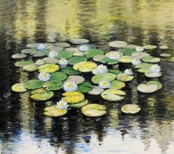 WATER LILLIES 50, 2014